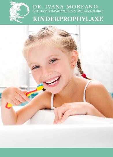 Kinderprophylaxe, Zahnreinigung, PZR, Erding